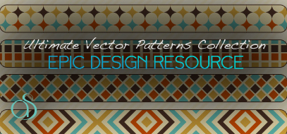 25 Ultimate Vector Patterns Collection For Every Designer