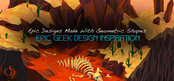 50+ Epic Designs With Geometric Shapes