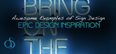 90+ Epic Sign Design