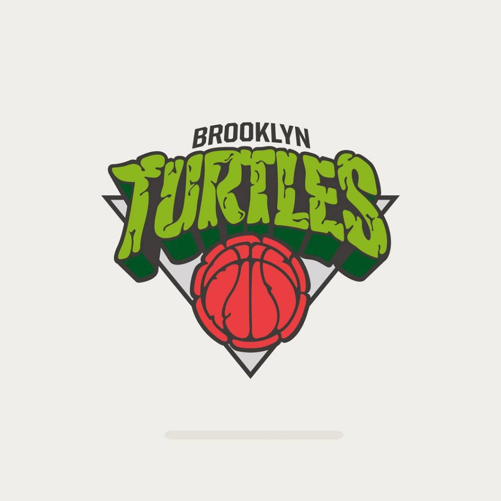 famous sports logos reimagined