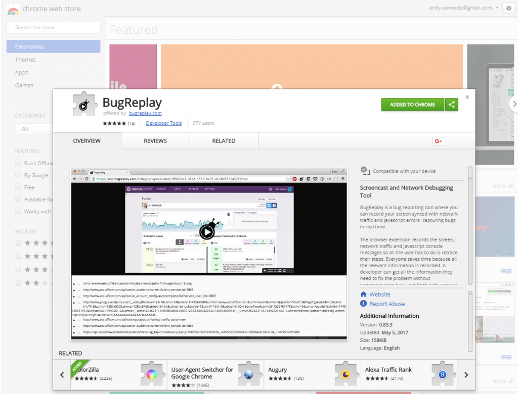 bug-replay-chrome-extension-add-on-plugin-screen-recording-bug-reporting