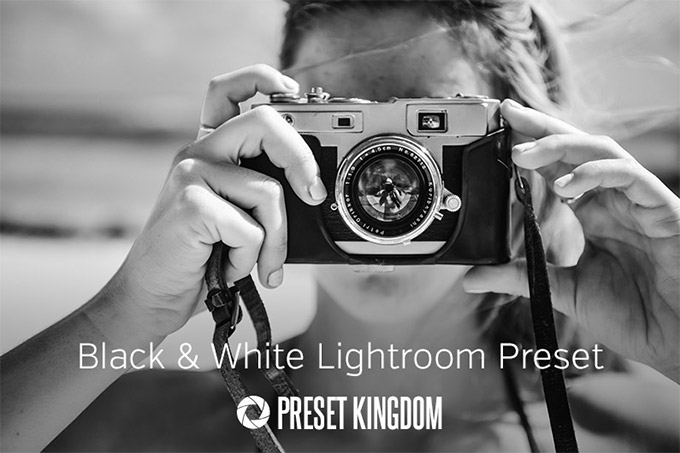 High Contrast Black & White Lightroom Preset