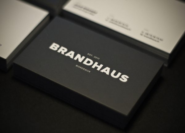 Business cards with big bold typography card 1 colourmoves