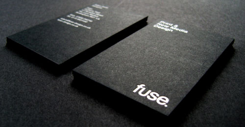 Business cards with big bold typography heres some examples of business cards with big bold typographic design colourmoves