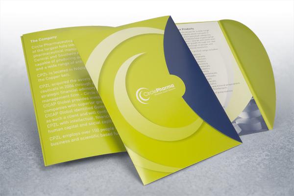 60 awesome creative brochure folders