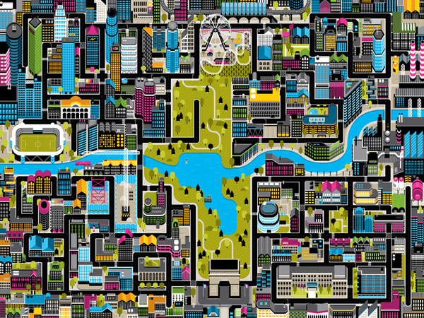 70+ Epic Map Design Design A City Map on
