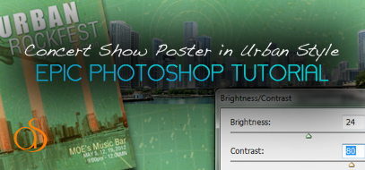 Photoshop Tutorial: How To Design Urban Style Rock Concert Show Posters