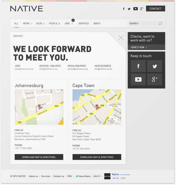 Contact Us Page Examples: What Is Information Architecture? 30+ Epic Design Resources