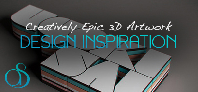 100+ Creative, Inspirational & Epic 3D Renders & Elegant CG Artwork Design