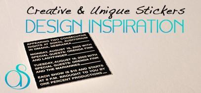 80+ Creative, Unique, & Clever Sticker Print Design Inspirations