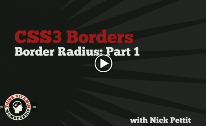 Border Radius: Part 1 - From treehouse