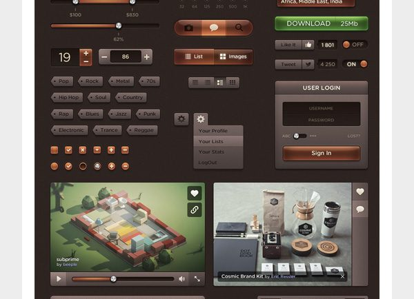 dark-amber-ui-premium-kit
