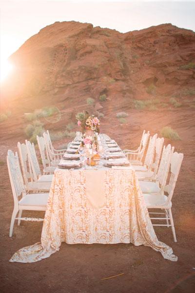 desert-rose-wedding-inspiration-table-cloth