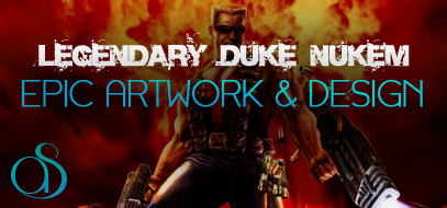 50+ Epic Artwork, Illustrations & 3D Design of Duke Nukem w/ Quotes & History – Tribute To A Video Game Legend.
