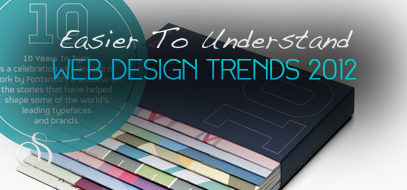 Easier to Understand 10+ Web Design Trends For 2012