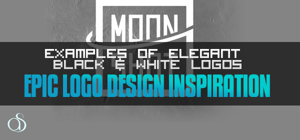 Examples of Elegant Black & White Logos