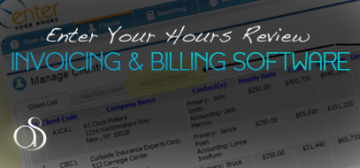 Invoicing & Billing Software Review – EnterYourHours.com