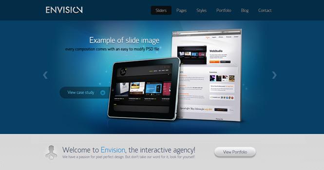 Business WordPress Theme - Envision