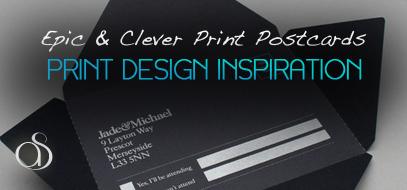 20+ Fresh & Clever Postcard Design Inspirations for 2012