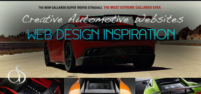 20 creative and inspirational automotive websites. Black Bedroom Furniture Sets. Home Design Ideas