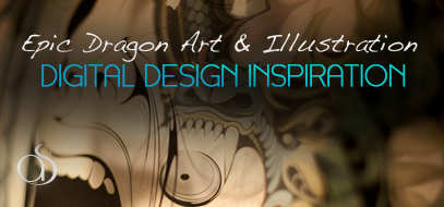 100+ Epic, Beautiful & Amazing Dragon Design Inspirations – Digital Art, Renderings, & Illustrations