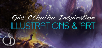 50+ Epic Cthulhu Design Inspirations – Illustrations & Artwork from Mythology