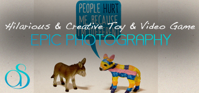 60+ Hilarious, Creative & Beautiful Examples of Toy & Video Game Inspired Photography