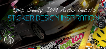 60+ Epic Stickerbombs & Geeky JDM Sticker Decals (Japanese Domestic Product)