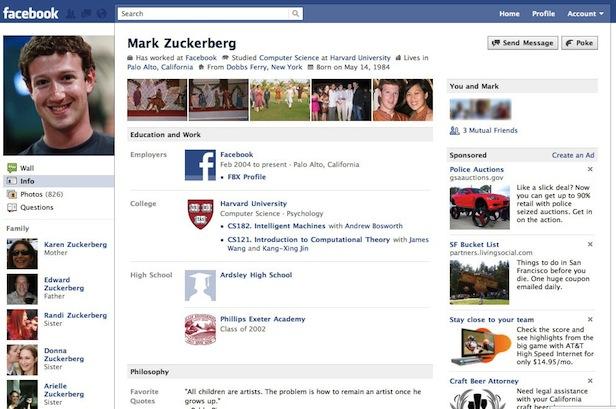 Facebook 2010