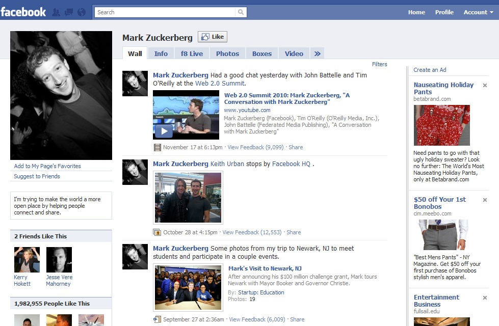 evolution of facebook Evolution news (en) provides original reporting and analysis about the debate over intelligent design and evolution, including breaking news about scientific research.