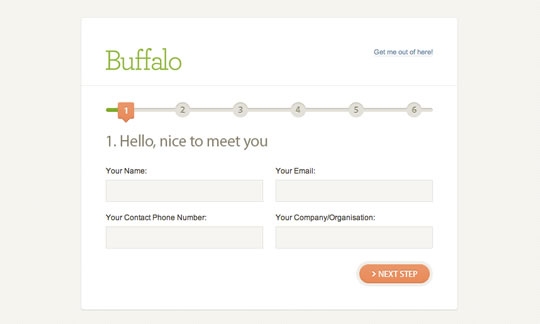30 Best Examples Of Html Contact Forms In Web Design