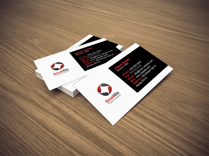 40 best free business card templates in psd file format free eco friendly business card template accmission Choice Image
