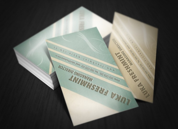 50 epic psd business card template files retro typography business card psd accmission Gallery