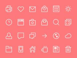 free-icons-thin-flat-style-icon-set