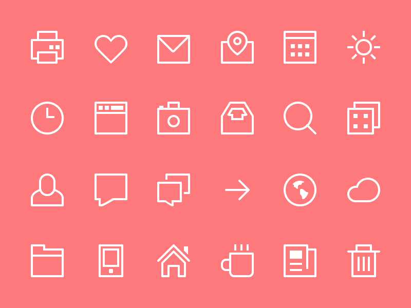 100  best free icons