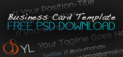 Exclusive FREE PSD Download – Dark, Creative, & Minimal Business Card Print-Ready Design Template