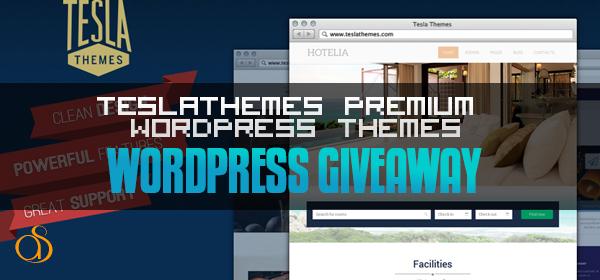 Giveaway: TeslaThemes Premium WordPress Themes