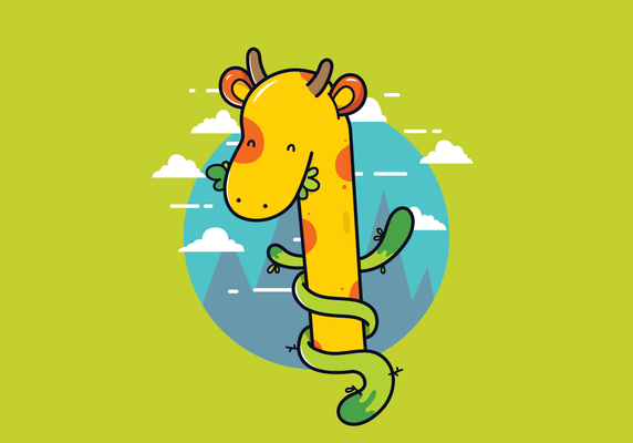 free-vector-giraffe-illustration-download-ai-file