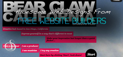 20+ Creative Web Designs Built With Wix and IMcreator