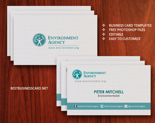 Business Card Template Samples In World