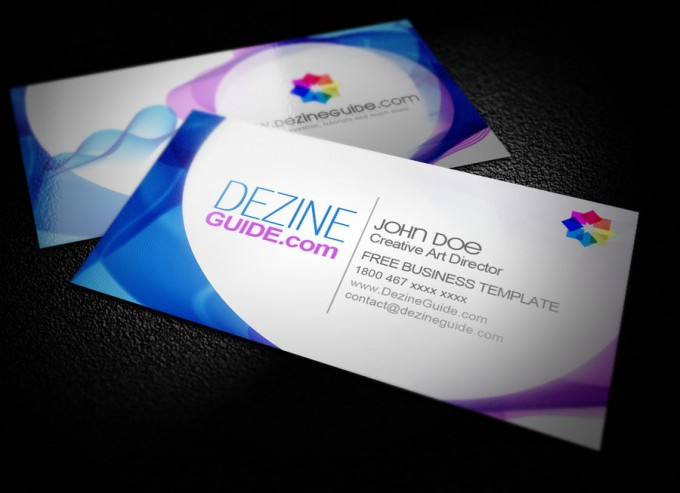 Free Business Card Templates In Psd Format