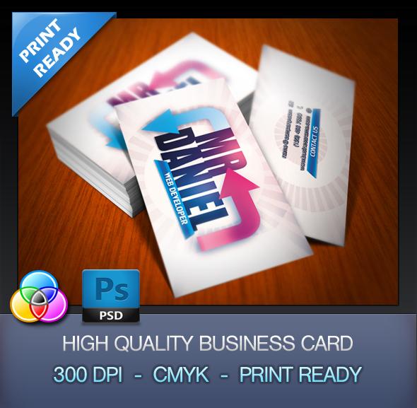 40 best free business card templates in psd file format. Black Bedroom Furniture Sets. Home Design Ideas