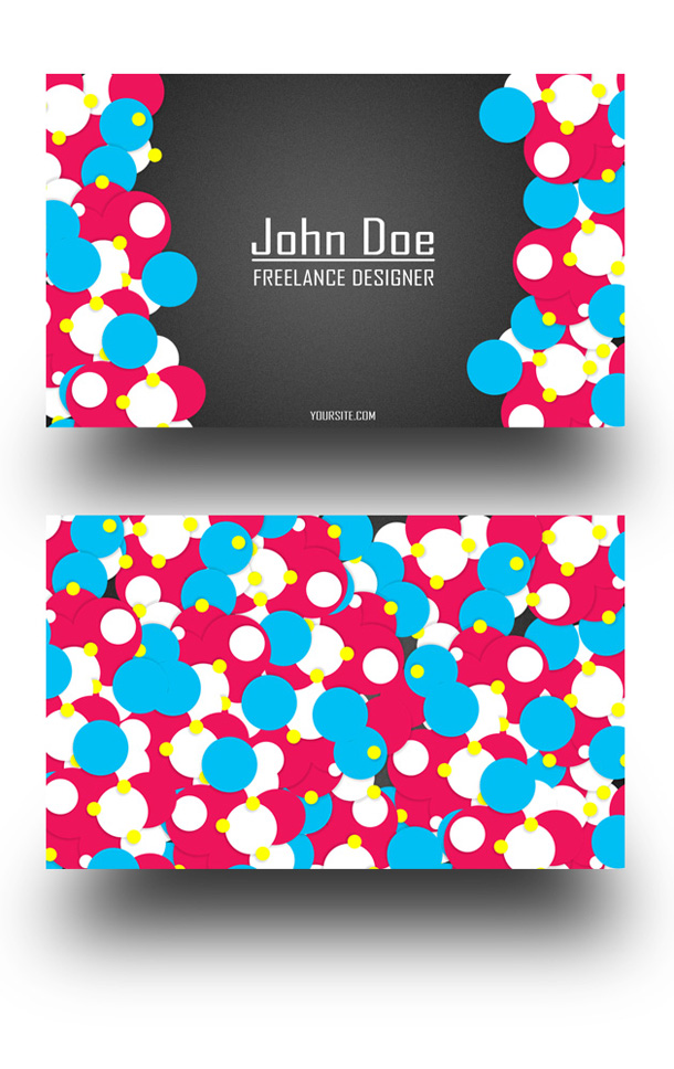 25 fascinating psd business card templates business card for freelancers reheart Image collections