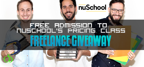FREELANCE GIVEAWAY: Free Admission to nuSchool's Pricing Class