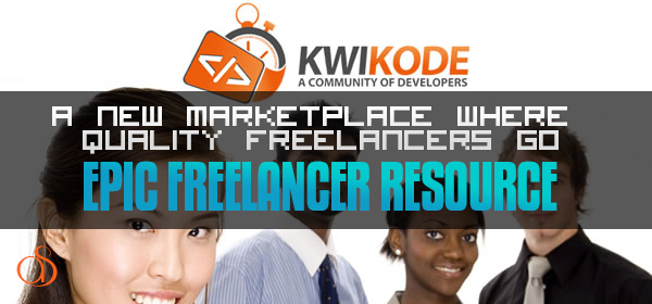 Kwikode – A New Marketplace Where Quality Freelancers Go. Check Out Our Android Tablet Giveaway!