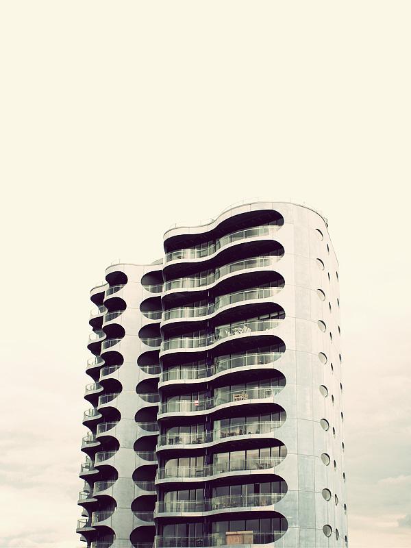 Futuristic Architecture Drawing Futuristic Architecture