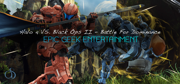 Halo 4 & Black Ops II In Battle For Sales & Visual Graphics Supremacy