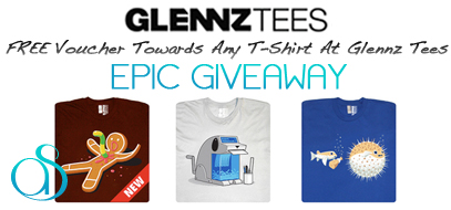 Epic Geek T-Shirt Giveaway – Win A FREE $30 Voucher For GLENNZ TEES Shirts!