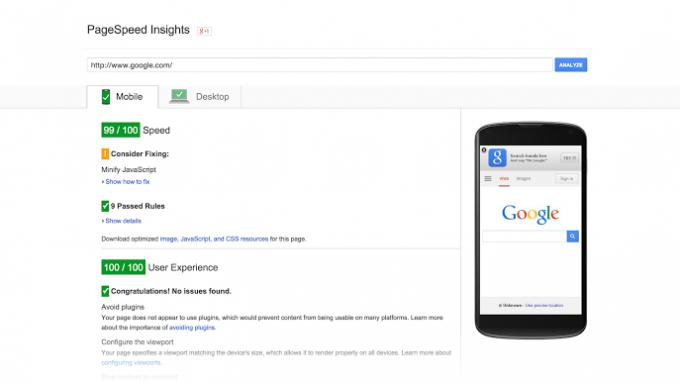 google-page-speed-seo-insights