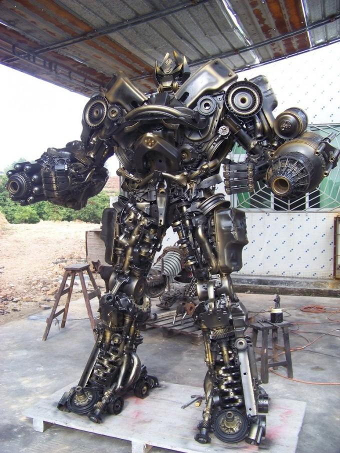 Kako se kalio čelik Hand_made_steel_robot_by_sinoera-d4mu3uj-680x906
